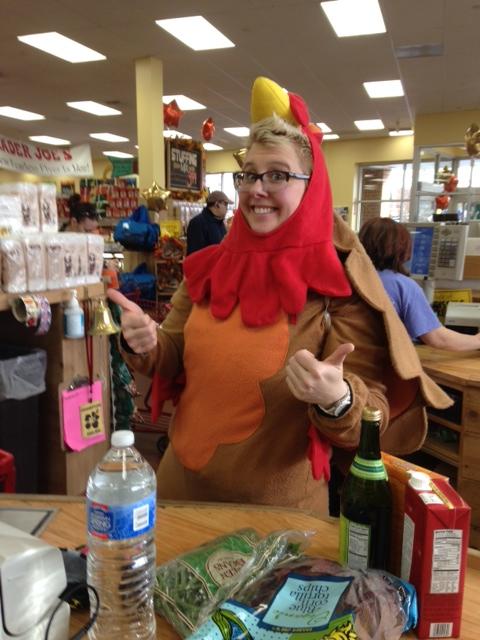 Alicia - Friendly TJ Turkey Cashier